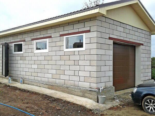 Из чего построить гараж недорого своими руками
